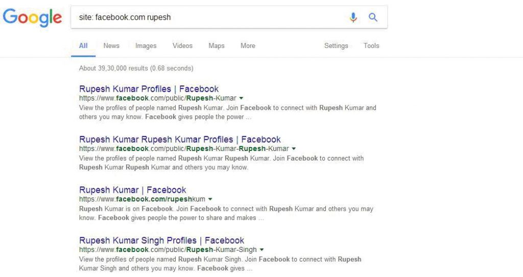 Facebook Search For People Without Logging In (13 Step Guide) 4