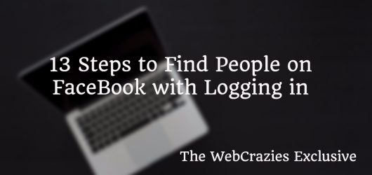 Facebook Search For People Without Logging In (13 Step Guide) 1