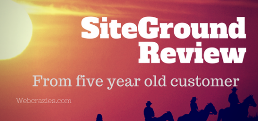Siteground India Review