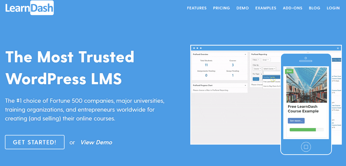 5 Best WordPress LMS Plugins For 2019 Compared 1