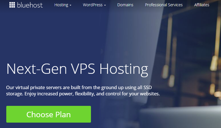 Bluehost VPS Review